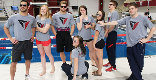 Indiana University Diving Team